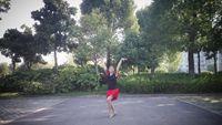 宣城霞子廣場舞《妹妹比花俏》拉丁恰恰舞。編舞:范范附正背面口令分解教學演示