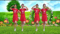 麗麗自由廣場舞《北江美》原創32步雙人水兵舞附教學 正背面口令分解動作教學演示