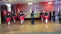 德陽開心舞蹈隊《媽媽恰恰》七一演出 正背面演示及口令分解動作教學