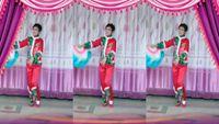 晨之虹單扇舞《大辮子》個人版 完整版演示及口令分解動作教學