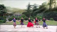 湘姐廣場舞《納木措戀人》編舞;糖豆廣場舞課堂 完整版演示及分解教學演示