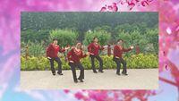 唐山迎迎廣場舞團隊《花樓戀歌》編舞:鳳凰六哥 正背面口令分解動作教學演示