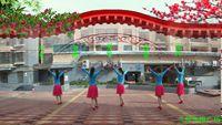 兰州冬梅舞蹈《情醉桃花源》原创优美三步舞 原创附教学口令分解动作演示