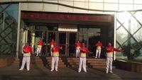 中國夢唐國雄舞蹈隊《火了火了火》 原創附正背面教學口令分解動作演示