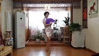 天山雪蓮廣場舞《夜來香》 編舞:茜茜老師   習舞:天山雪蓮 正背面演示及口令分解動作教學