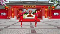 河北雪兒廣場舞《拜新年》編舞慧慧 附正背表演口令分解動作分解教學