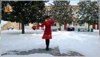 歡快柔美廣場舞【新年財運到】編舞,香香 正背面演示及慢速口令教學