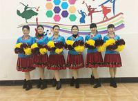誓言廣場舞《春暖花開》原創編舞 附教學 步子舞 正背面演示及口令分解動作教學和背面演