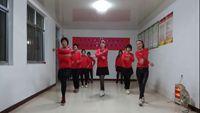 青島萊西太陽花廣場舞《最幸福的人》 正背面口令分解動作教學演示