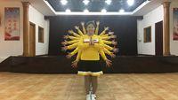 誓言廣場舞《老婆最大》原創編舞 附教學 健身舞 正背面口令分解動作教學演示