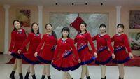 河南華姐廣場舞《雪蓮花》原創32步附教學 正反面演示及分解動作教學
