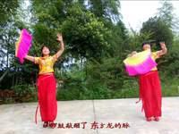 西巖廣場舞 中華炫起來 表演 口令分解動作教學演示