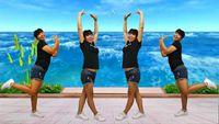 四川蓉蓉廣場舞《瑪納斯之戀》原創32步入門鬼步舞 正背面演示及口令分解動作教學
