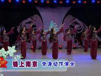 応子廣場舞  錦上南京 背面展示 正反面演示及分解動作教學