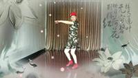 浙江舞舞蹈 红马鞍 表演 个人版 正背面演示及口令分解动作教学和背面演