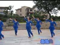 新東方廣場舞 中國茶 表演 編舞 格格 正背面演示及慢速口令教學