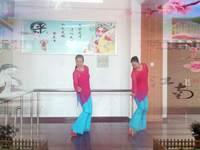 云雁廣場舞 半壺紗 表演 雙人版 完整版演示及口令分解動作教學