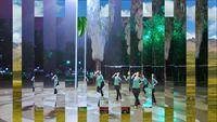 廣西柳州幸福廣場舞隊演繹《唐古拉》 正背面演示及口令分解動作教學