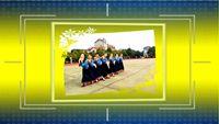 瓊之舞廣場舞《穿行》 原創附正背面教學口令分解動作演示