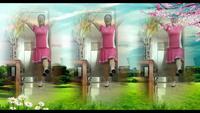 達州舞灬清影廣場舞 中國歌最美 表演 個人版 原創附教學口令分解動作演示