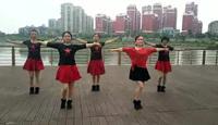 欢天喜地歌舞舞蹈 红马鞍 表演 完整版演示及分解教学演示