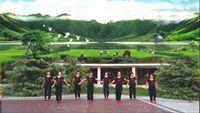 水云月健身舞隊《風情萬種》舞蹈演示附正背面口令分解教學演示