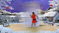幸福花開廣場舞養生健身操二髖部運動《北風吹又吹》編舞:波波 口令分解動作教學演示