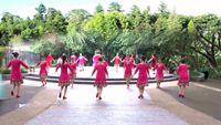 重庆冰彩舞蹈(渝航队)《唱着情歌流着泪》编舞:美久 正背面演示及口令分解动作教学和背面演