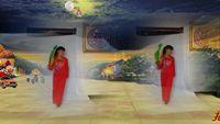 幸福花開廣場舞單扇舞《大辮子》編舞:楊麗萍 完整版演示及分解教學演示