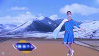 水上漂高高廣場舞《唐古拉》編舞:饒子龍 原創附教學口令分解動作演示