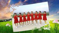 河南魯山王瓜營村愛舞者廣場舞《啞巴新娘》 原創附教學口令分解動作演示