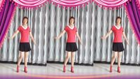 月光特亮廣場舞【煙花雨】編舞糖豆廣場舞課堂附正背面口令分解教學演示