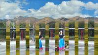 廣西柳州幸福廣場舞隊二人組合演繹《唐古拉》 正背面口令分解動作教學演示