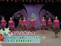 応子廣場舞  情歌飛出妹心窩 表演 完整版演示及分解教學演示
