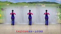 世紀芳草廣場舞《天越藍我就越想你》編舞:云裳 完整版演示及口令分解動作教學