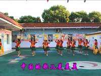 獨城藍玫瑰廣場舞 中國歌最美 表演 正背面演示及慢速口令教學