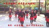 北京秀廣場舞《哥哥妹妹》原創水兵舞16步集體正面演示 原創附教學口令分解動作演示