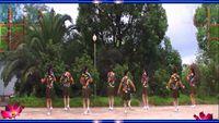 罗家村任员姐妹舞蹈队《雷山我的爱水兵舞》编舞茉莉老师 原创附教学口令分解动作演示