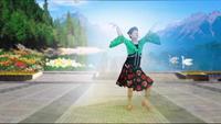 舞韻含香廣場舞 孔雀公主 表演 個人版 完整版演示及口令分解動作教學