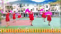 嘉燕廣場舞【大辮子】團隊版編舞楊麗萍 正背面演示及口令分解動作教學