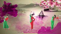 星星草舞蹈舞《新浏阳河》 经典正背面演示及口令分解动作教学