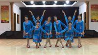 誓言廣場舞《情系草原》原創編舞 附教學 正背面演示及口令分解動作教學和背面演