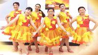 誓言廣場舞《愛在老地方》原創編舞 附教學 64步恰恰風格 正背面演示及口令分解動作教學和背面演