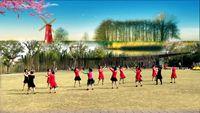 杭州依依舞蹈双人舞对跳《唱着情歌流着泪》原创 正背面演示及口令分解动作教学和背面演
