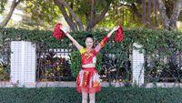 鳳凰香香新年舞《新年財運到》原創附分解 完整版演示及分解教學演示