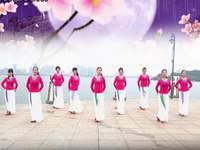 踏青舞蹈与永葆青春舞蹈 葬花吟 表演 原创附正背面教学口令分解动作演示