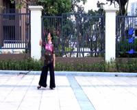 榕城舞魅舞蹈 落花 表演 个人版 经典正背面演示及口令分解动作教学