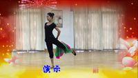 南昌青云譜區老年大學舞蹈《半壺紗》 正背面演示及口令分解動作教學和背面演