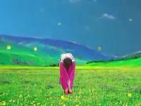 新疆花兒廣場舞 自由行走的花 表演 口令分解動作教學演示