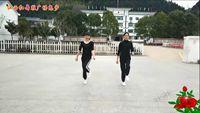 江西紅舞鞋廣場鬼步72步《大風歌》附分解 正背面演示及慢速口令教學